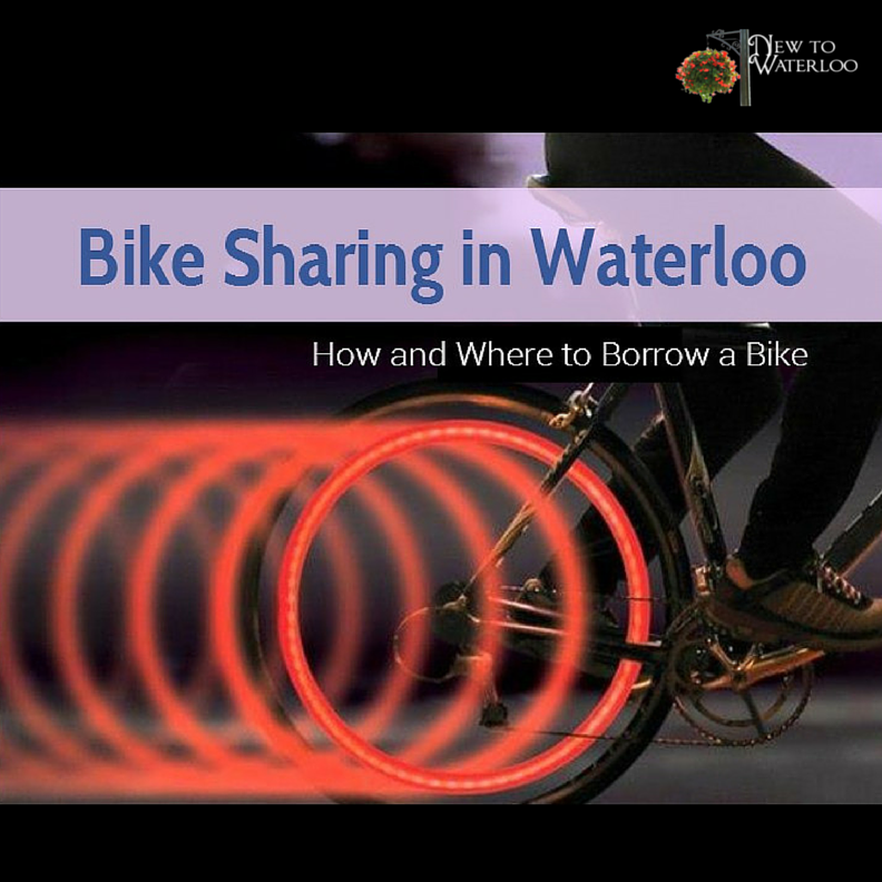 Cycling the neighbourhoods in Waterloo Ontario? Take a C.A.B.