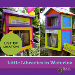Little Libraries in Neighbourhoods - New To Waterloo