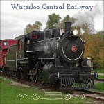 Waterloo Central Railway thru the neighbourhoods in Waterloo Ontario