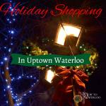 Holiday shopping in Waterloo Ontario