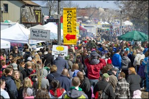 Each year, tens of thousands of visitors descend on Waterloo Region for the Elmira Maple Syrup Festival.