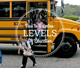 Levels Of Education In Schools In Waterloo Ontario
