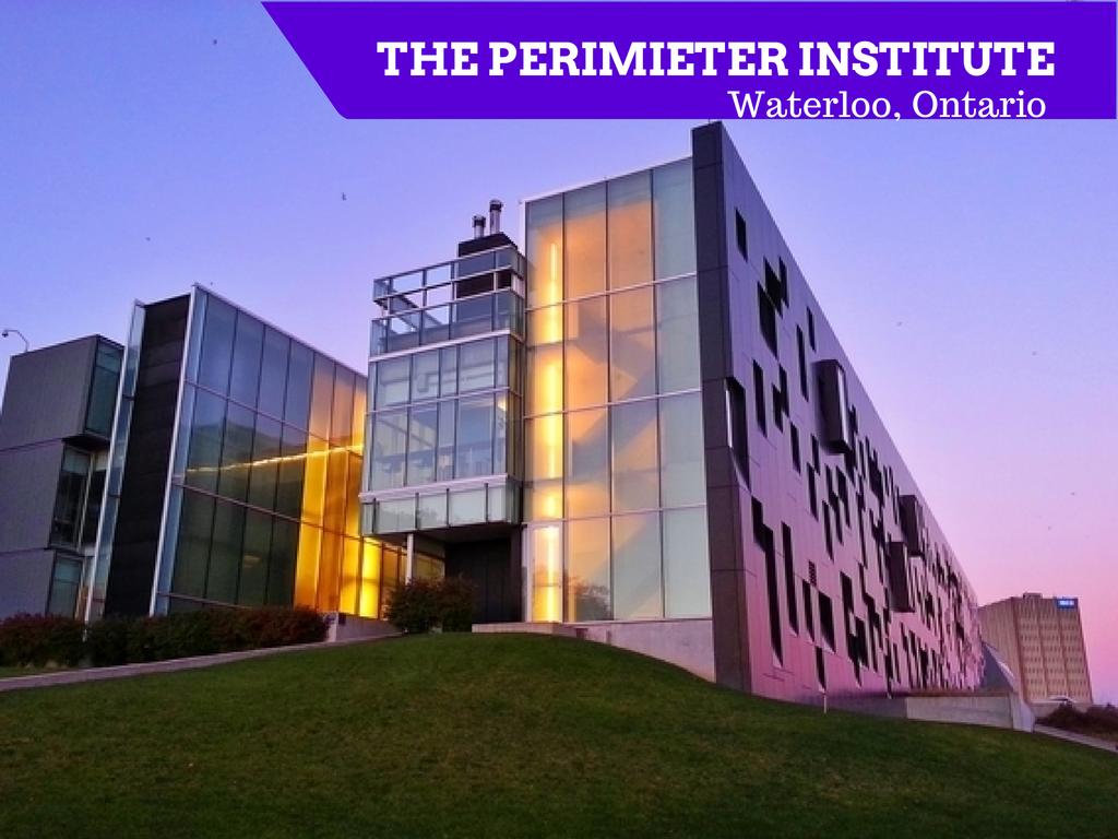 Perimeter Institute: employing alumni of schools in Waterloo Ontario