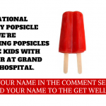 New to Waterloo: Bringing popsicles to kids at Grand River Hospital