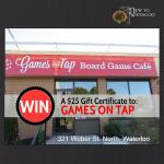 Games on Tap: Waterloo Ontario