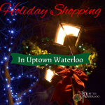 Holiday shopping in Waterloo Ontario