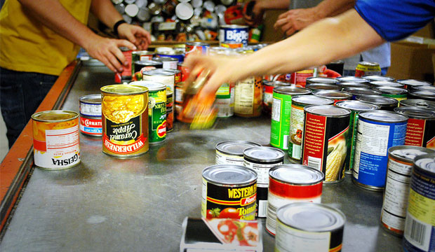 Family Sorting: The Food Bank of Waterloo